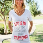 god is my refuge christian shirt for psalm 46