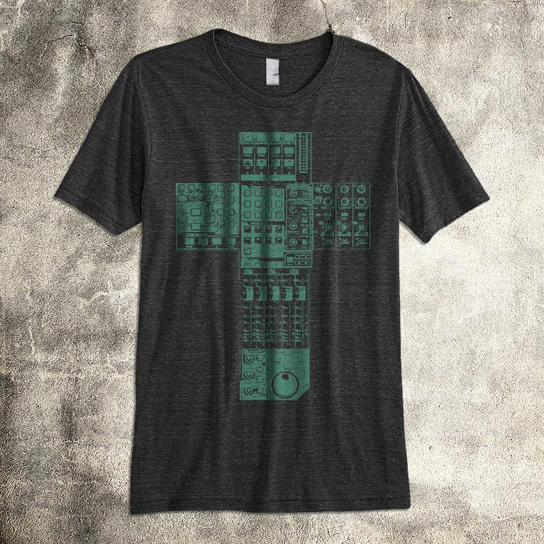 sound engineer worship tshirt