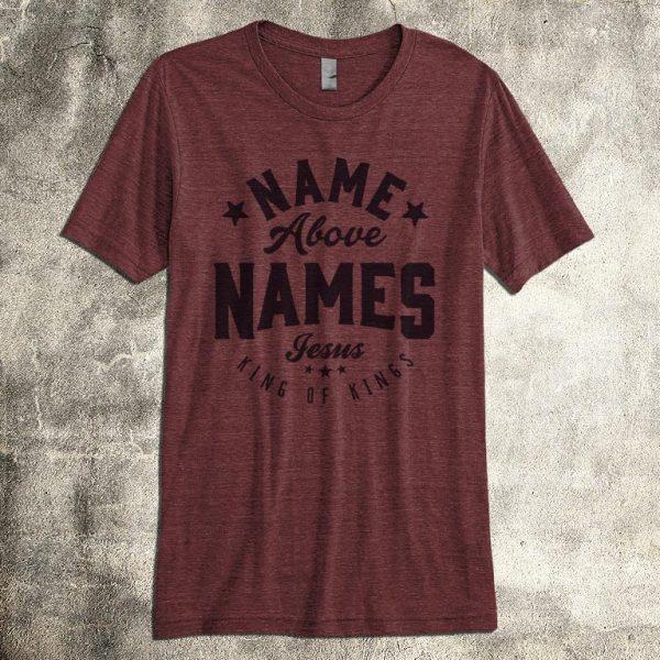 christian shirt for men name above names