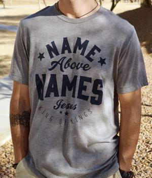 gray tri-blend christian t-shirt for men