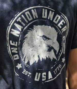 one nation under god patriotic tshirt